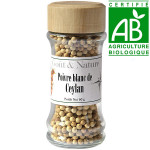 Poivre de Ceylan blanc 60 gr