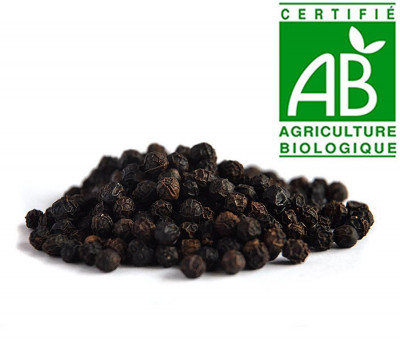 Poivre Bio du Sri Lanka 50 gr