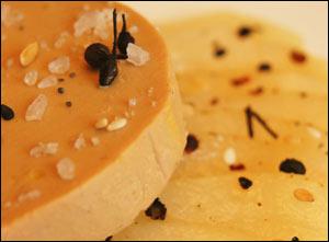 foie gras poivre